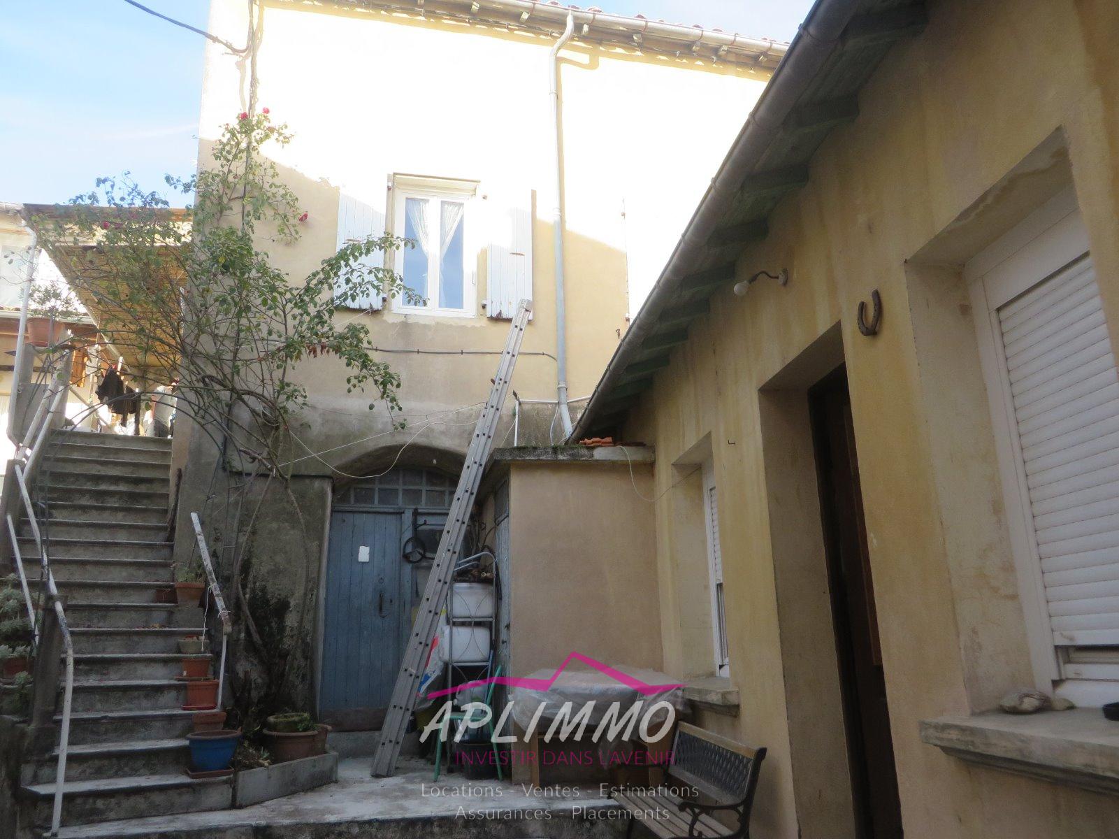 Vente le teil maison en pierre avec terrasse te 2008 - Vente maison en indivision ...